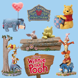 Range Of Disney Traditions Winnie The Pooh Figurines Brand New & Boxed