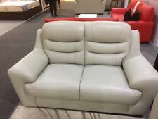 Beige Cream colour Leather 2 Seater SOFA - 3 seater SOFA AvailableSeparately NEW