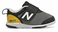 New Balance Kid's 223 Infant Boys Shoes Black with Yellow