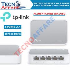 Switch di rete 5 Porte Hub Rete Ethernet Lan10/100Mbps TP-Link TL-SF1005D