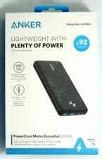 Anker PowerCore Essential 20000 mAh Portable Charger Battery Power Bank NEW