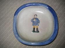 WMF Keramik Schale Ascher handbemalt Ostfriese Pfeife 1930 antik Tracht deco