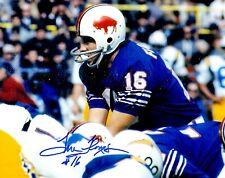 Autographed TOM FLORES Buffalo Bills 8x10 photo - w/COA