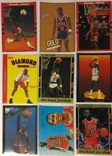 Michael Jordan Lot of 9! Rare! Rookie Promos, Inserts, Gold, USA, UNC, Bulls, RC