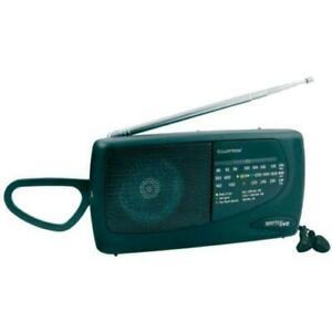 Mini Portable AM FM LW Radio Speaker Battery Operated Pocket & Earphones 3 Band