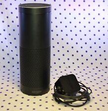 Amazon ECHO Digital Media Smart Speaker SK705D1 Black Alexa w/ Power Adapter