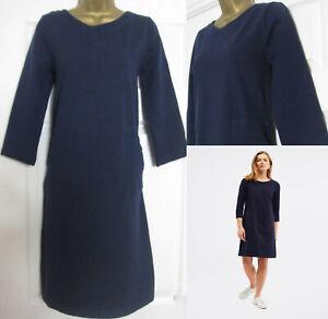 NEW White Stuff Womens Marinda Fairtrade Shift Tunic Dress Blue RRP £59 6-22