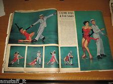 RIVISTA EPOCA 1953/163=FRED ASTAIRE=CLIPPING=ARTICOLO FOTO=