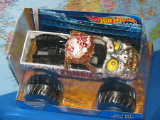 1/24 HOT WHEELS MONSTER JAM ZOMBIE TRUCK DIECAST METAL BODY **BRAND NEW & VHTF**