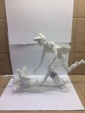Kaiser White Porcelain Figurine : The Duck Thief
