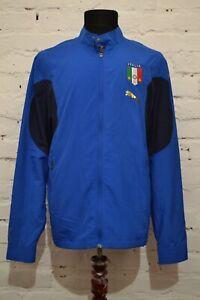 VINTAGE ITALY ITALIA 2006 TRAINING FOOTBALL JACKET PRE MATCH MENS M WORLD CUP