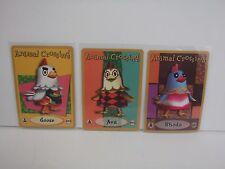 Animal Crossing Nintendo Game Boy E Reader Cards Goose Ava Rhoda 052 092 lot L54