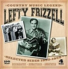 Lefty Frizzell~Country Music Legend~Selected Sides 1950-1959~BRAND NEW 4 CD SET