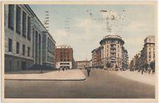 MILANO - CORSO PORTA VITTORIA E PALAZZO DI GIUSTIZIA 1944