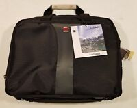 """Wenger Legacy 16"""" Top Load Double Gusset Laptop Case, Black/Gray (WA-7652-14F00)"""