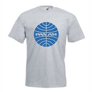 PAN AM Airlines T Shirt  Catch Me If You Can