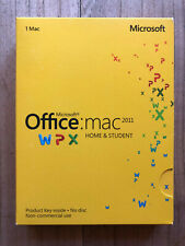 Microsoft Office Mac Home & Student 2011 (Nordic Eurozone) | TOP inklusive OVP