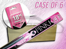 "AUTOTEX 18"" AP-PF18 PINK BEAM FLEX WIPER BLADES CS OF 6 BREAST CANCER AWARENESS"