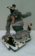Harry Potter Battling The Mountain Troll Figurine Limited Edition 2000