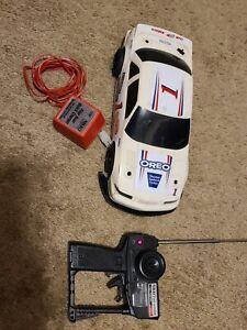 Nikko RC Stock Car Vintage Rare oreo Lumina nascar Charger Remote #1