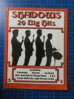 Shadows 20 Big Hits Carlin Music 1975 H14156