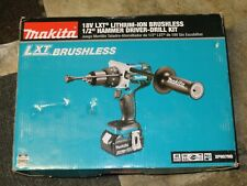 """NEW! Makita XPHO7MB 18V LXT Lithium-Ion Brushless 1/2"""" Hammer Driver-Drill"""