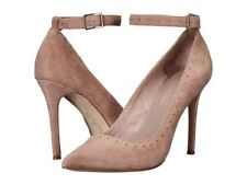 New! JOIE - GAGE - Suede Mushroom Ankle Strap Pumps Heels Shoes - Sz 37 IN BOX!