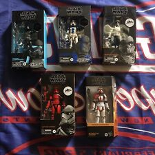 Star Wars Black Series Gaming Greats Stormtrooper Lot 5 New Figures