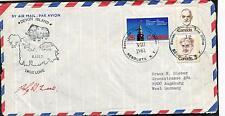 1981 Devon Island AINA True Love Resolute Canada Polar Antarctic Cover SIGNED