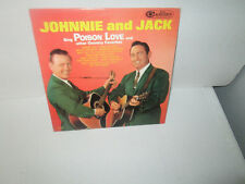 JOHNNY & JACK TENNESSEE MOUNTAIN BOYS - COUNTRY FAVORITES rare LP Vinyl 1963 Exc
