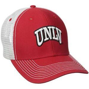 Ouray Sportswear NCAA UNLV Rebels Sideline Cap, Red/White
