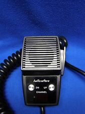 Hallicrafters Mobile 2-Way Radio Microphone with Channel Controls and Display