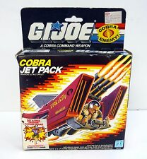 GI JOE COBRA JET PACK Vintage Action Figure Vehicle MISB SEALED / COMPLETE 1987