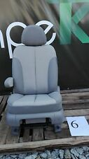 Sitz Fahrersitz Kia Carnival III Stoff grau