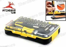 R'DEER 65PCS RATCHET SCREWDRIVER BIT & SOCKET ELECTRICIAN TOOL SET (RT-1665)