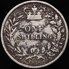 More details for 1876 | victoria one shilling 'die 21' | silver | coins | km coins