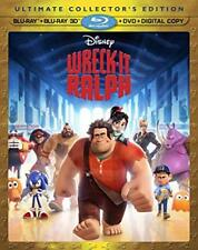 Wreck-It Ralph Ultimate Collectors Edtn - 3D+Blu-ray+DVD - US Edition - Slipcase