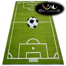 THICK RUGS 'PILLY' CARPETS FOOTBALL PITCH FOR KIDS BALL Print Area LARGE SIZE