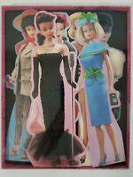Vintage Lot of 6 Barbie Doll 1994 Hallmark Greeting Cards Retro Fashion