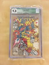 Uncanny X-Men #292 CGC 9.0 Signed by Brandon Peterson (in Blue!!) Newly CGC'd