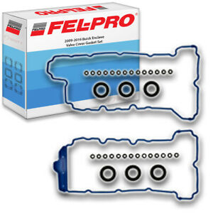 Fel-Pro Engine Valve Cover Gasket Set for 2009-2016 Buick Enclave 3.6L V6 ib