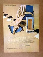 1965 Azrock Asbestos Floor Tile Tennessee Gas Building Houston Install print Ad