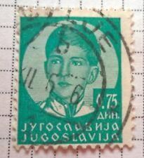 Yugoslavia stamps - King Peter II (1923-1970)   1935 .75 dinar - FREE P & P