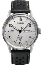 Watch Mens Junkers G38 6944-1 Black Leather