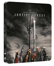 Zack Snyder's Justice League Limited Ed Steelbook 2 Disc 4K Ultra HD Blu-ray