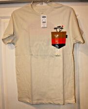 Vans Men's Sun Sets Short Sleeve Pocket T-Shirt, Turtle Dove, MENS SIZE SMALL