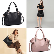 Ladies Soft PU Leather Hobo Handbag Tote Shoulder Bag Leisure/Daily Bag