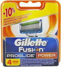 Gillette Fusion Proglide Power Rasierklingen 4 x Ersatzklingen