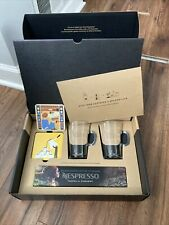 **NEW** NESPRESSO Welcome Gift Set: Limited Edition Coffee + Cups + Coaster