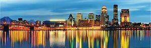 Jigsaw Puzzle Explore America Louisville Kentucky 1000 pieces NEW pano
